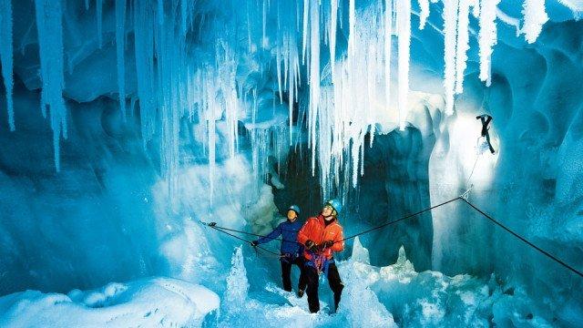 Eispalast Hintertuxer Gletscher