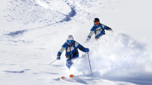 Winter-Ski-Freeriden